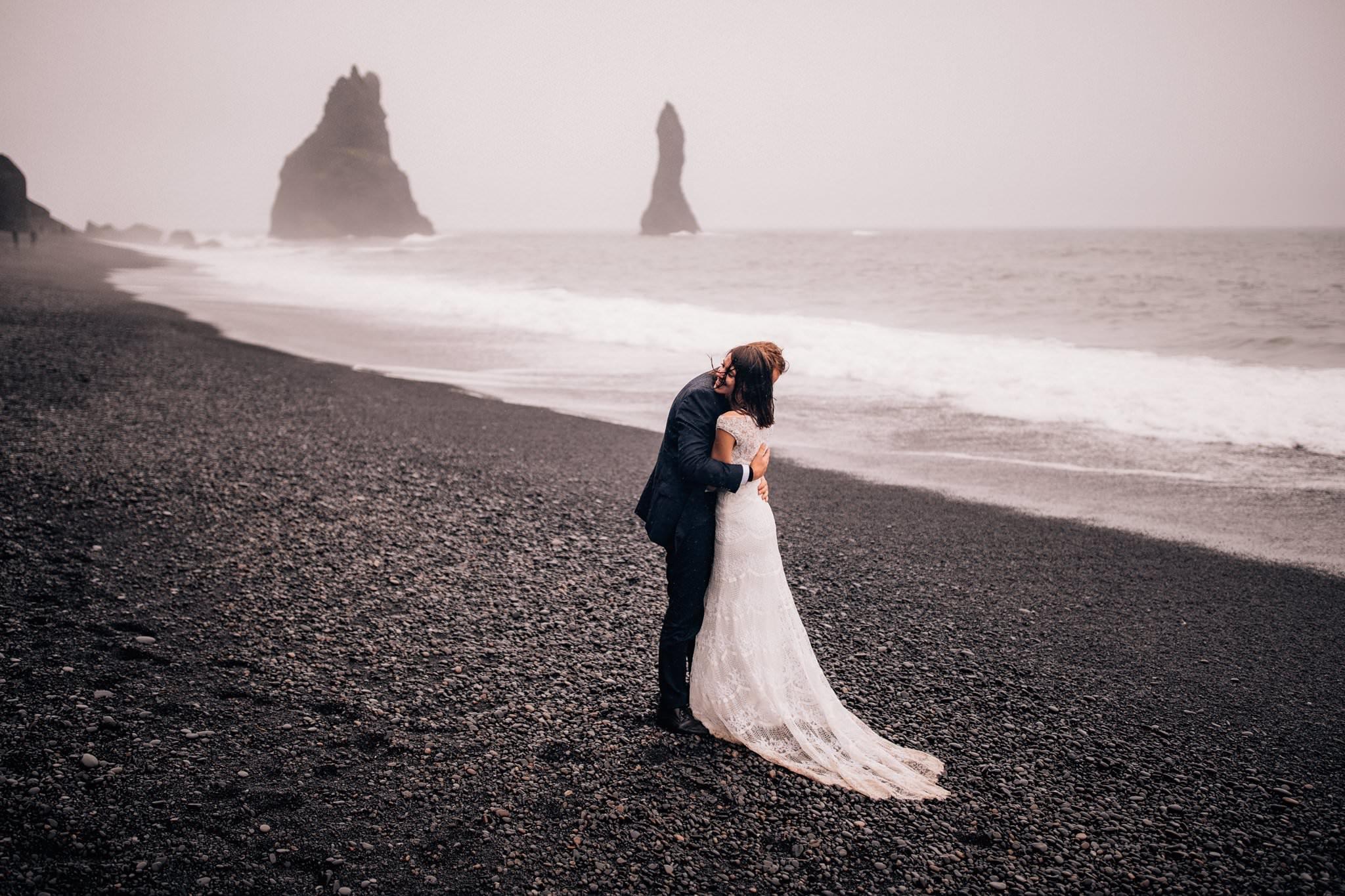 Sesja Islandia Czarna Plaża