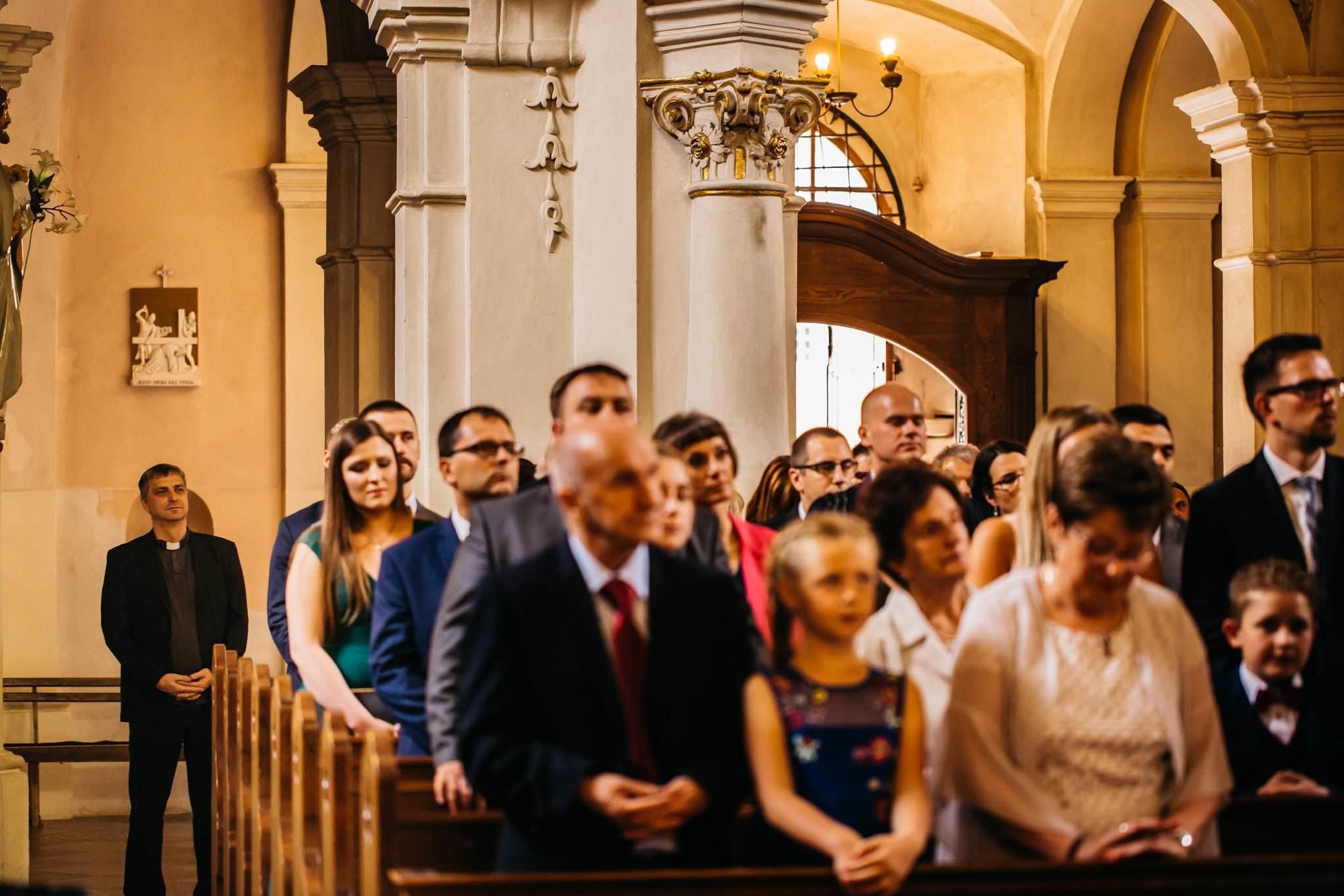 Ceremonia ślubna Owińska