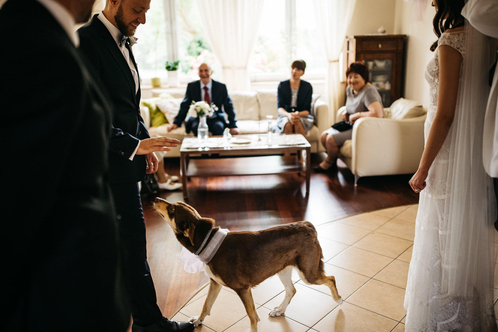 Przygotowania ślubne błogosławieństwo