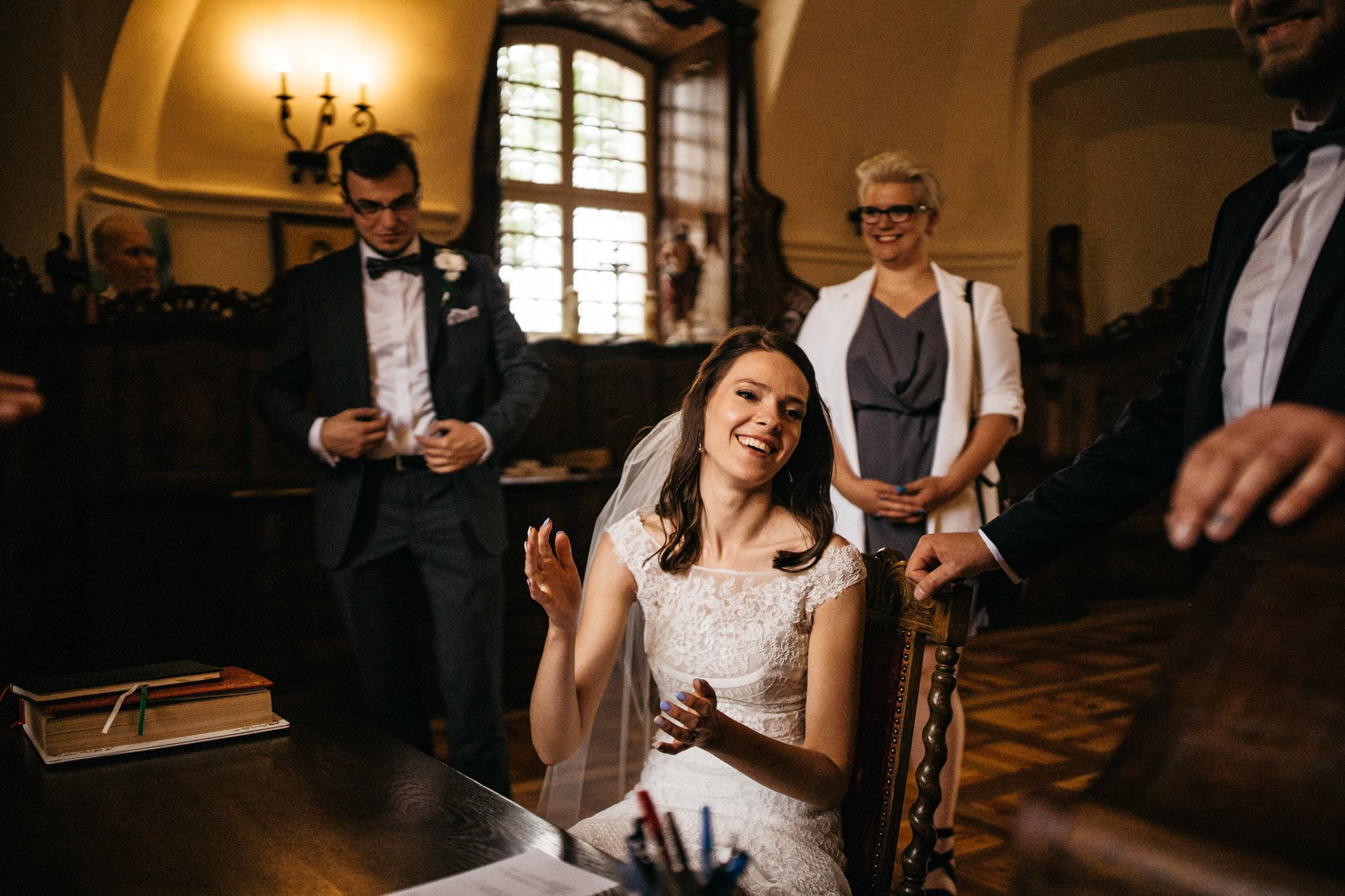 Ceremonia ślubna Owińska Love Needs fotografia ślubna