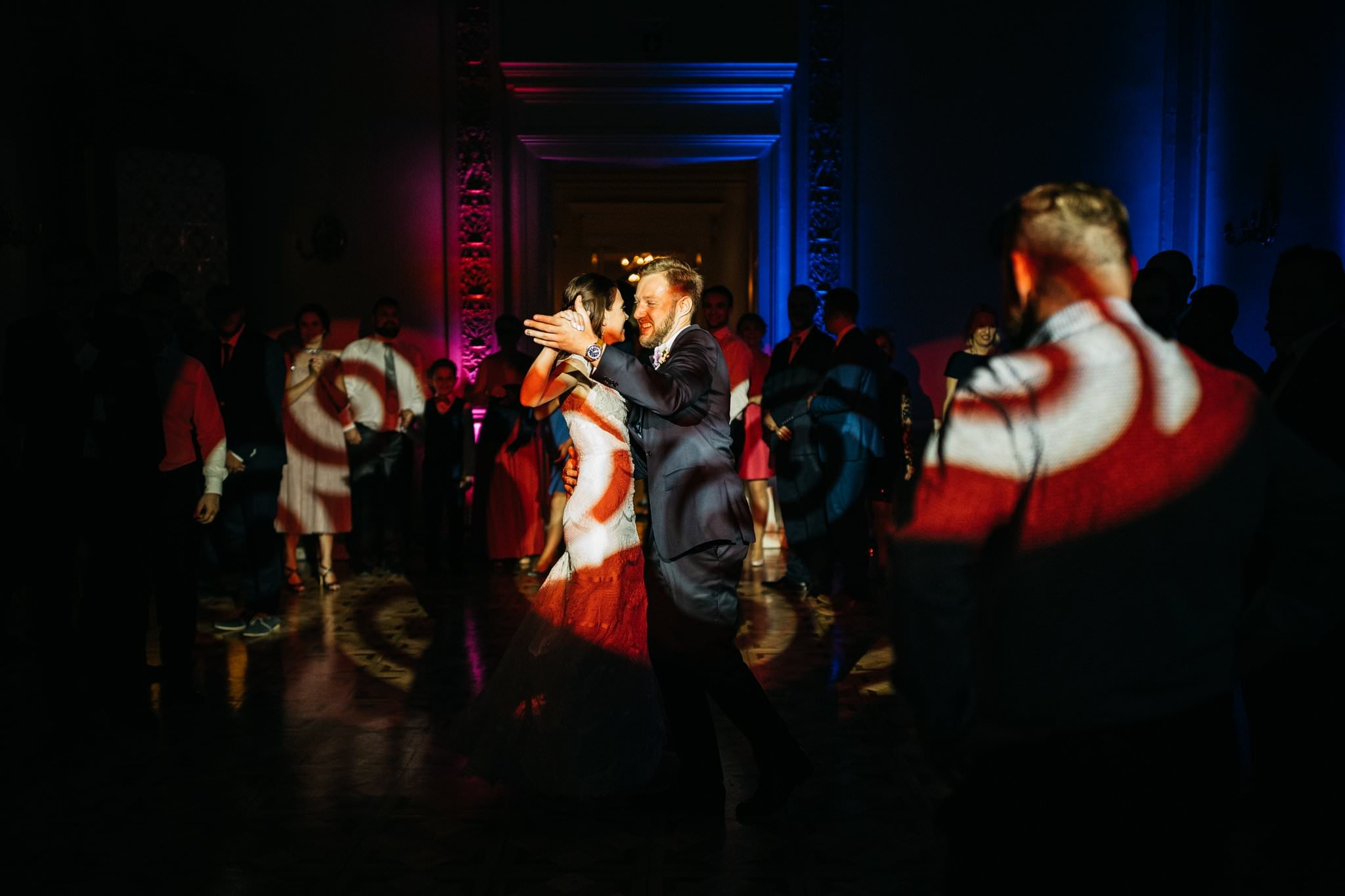 Pierwszy taniec pary młodej Pałac Biedrusko