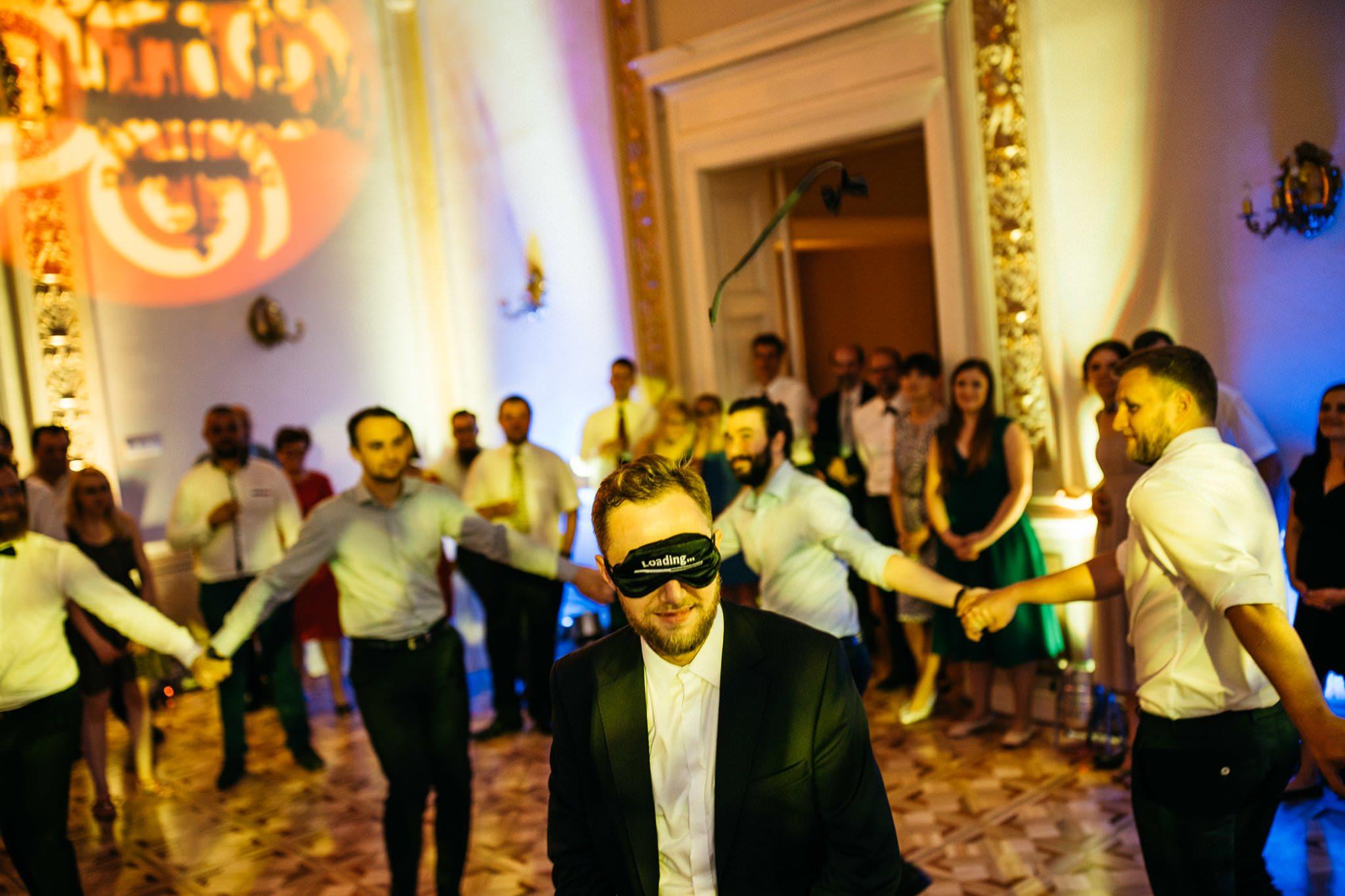 Zabawa oczepinowa pałac Biedrusko