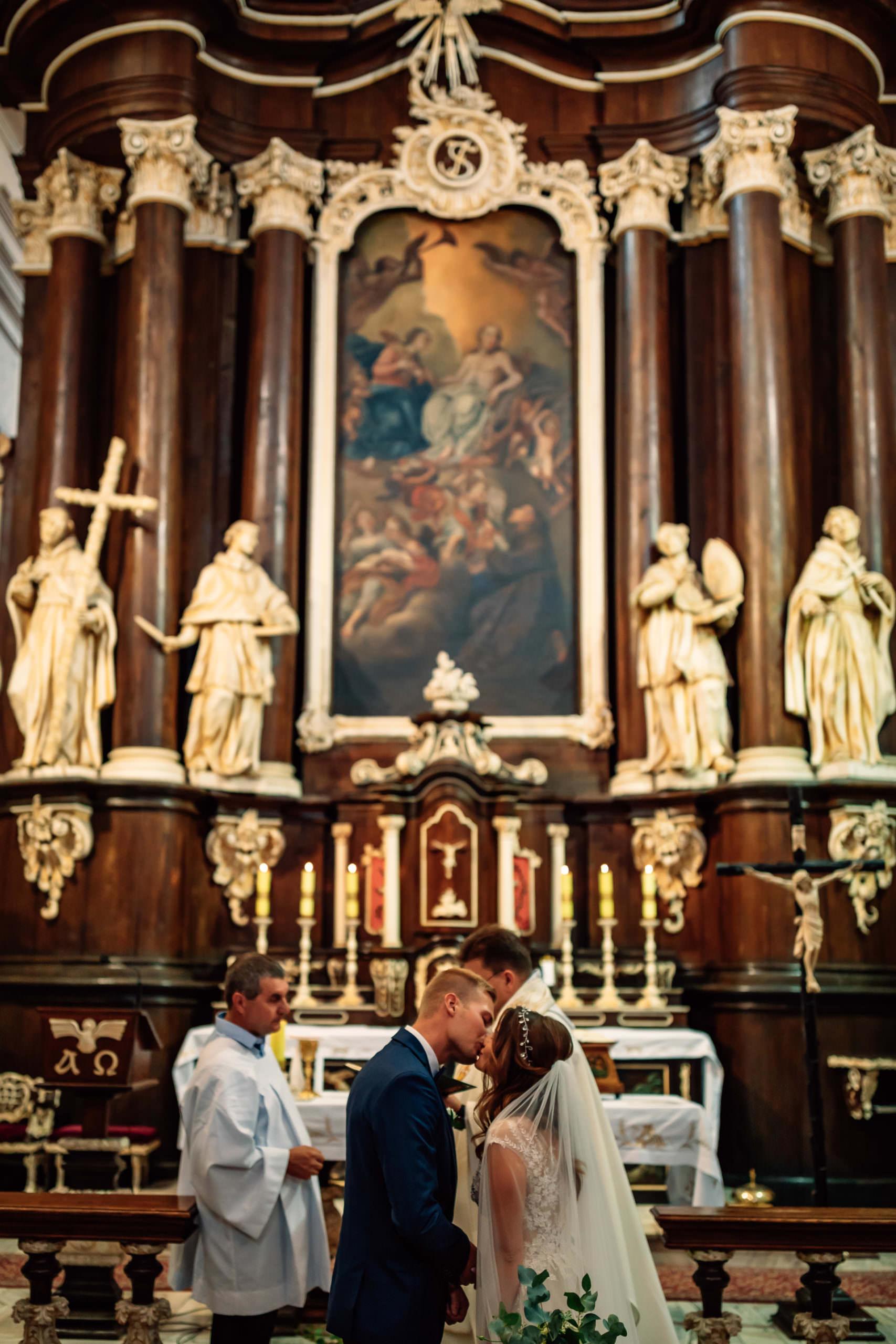 Klasztor Franciszków Woźniki Ceremonia Ślubna