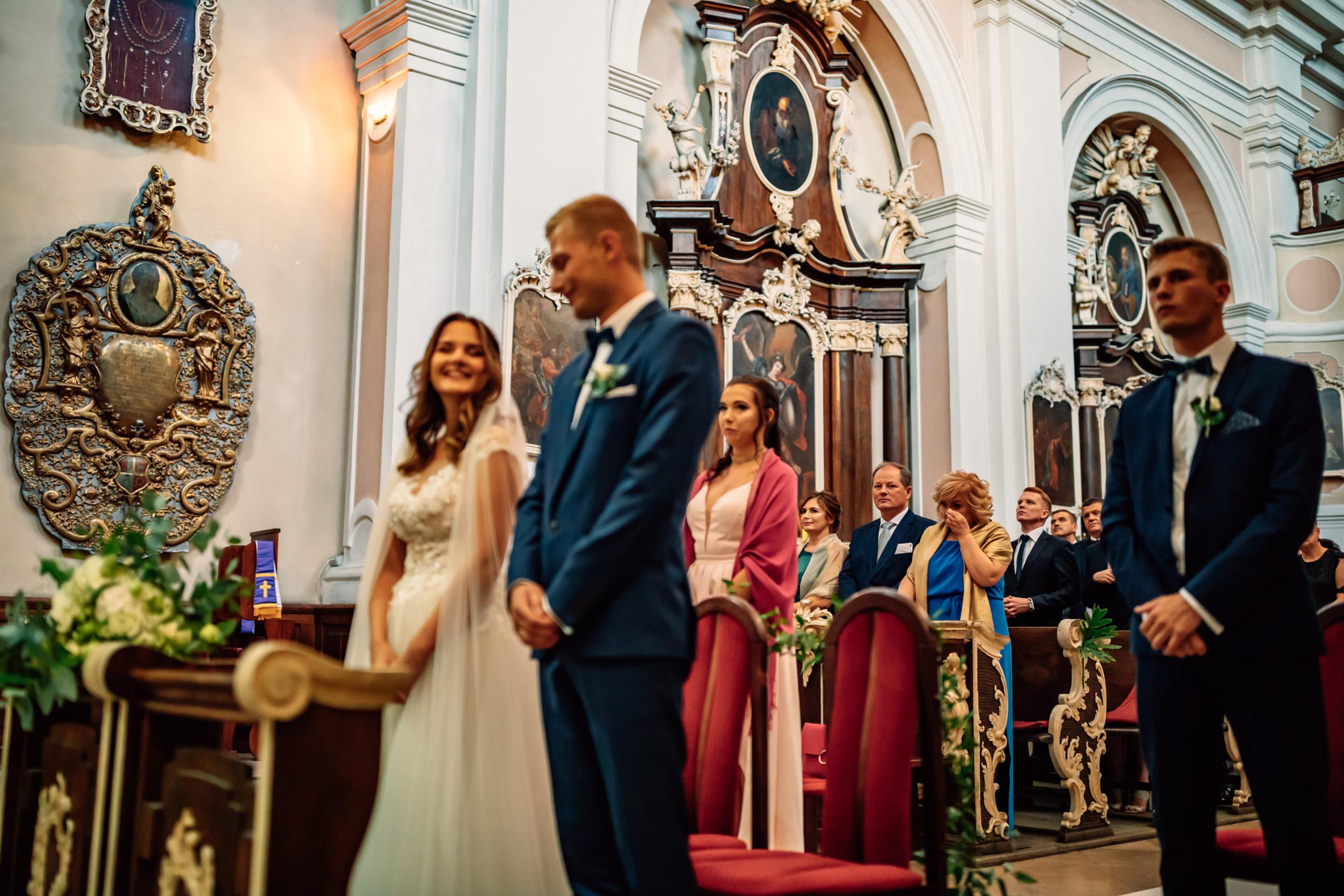 Ceremonia ślubna Klasztor Franciszków