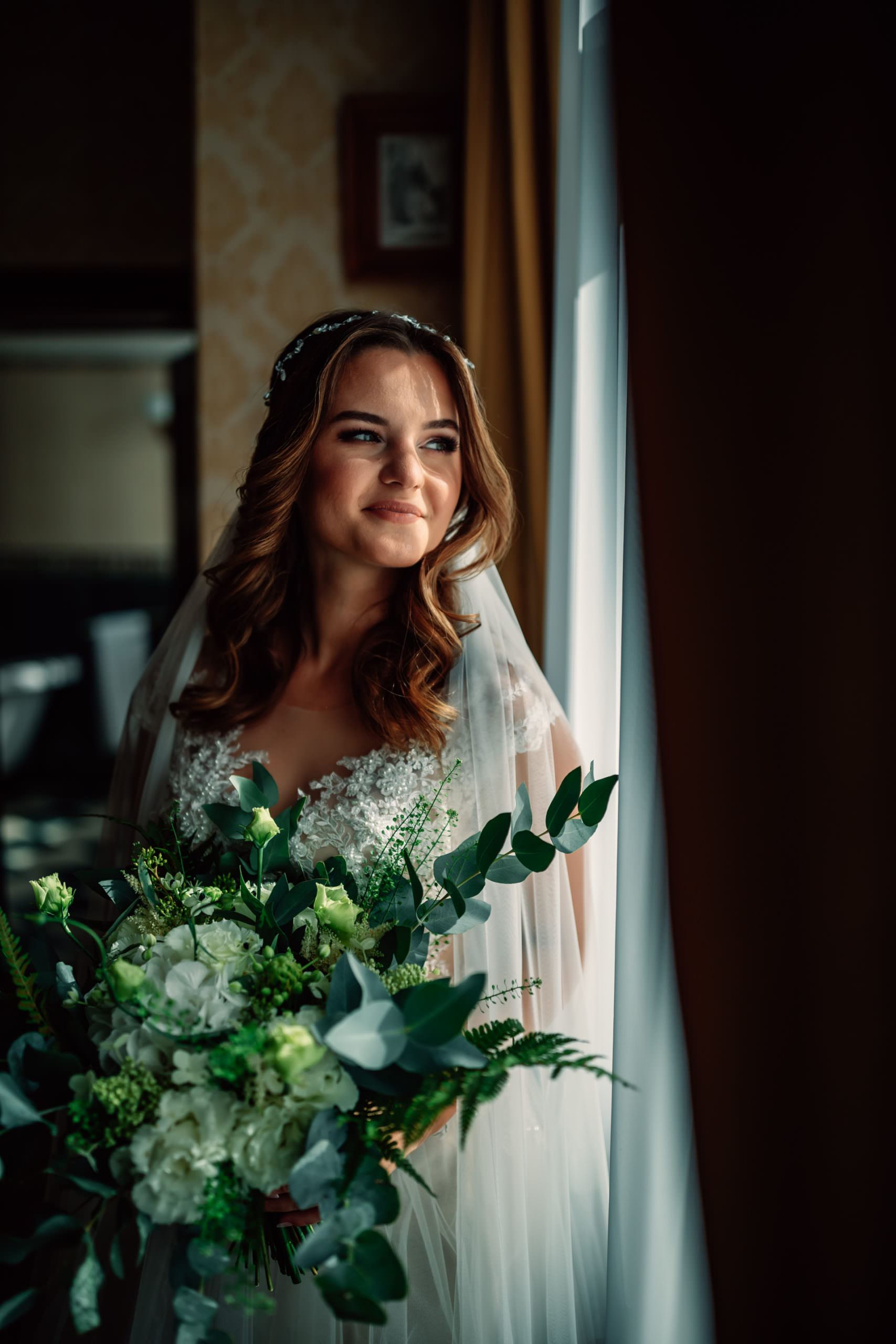 Joanna Kruk bukiet ślubny