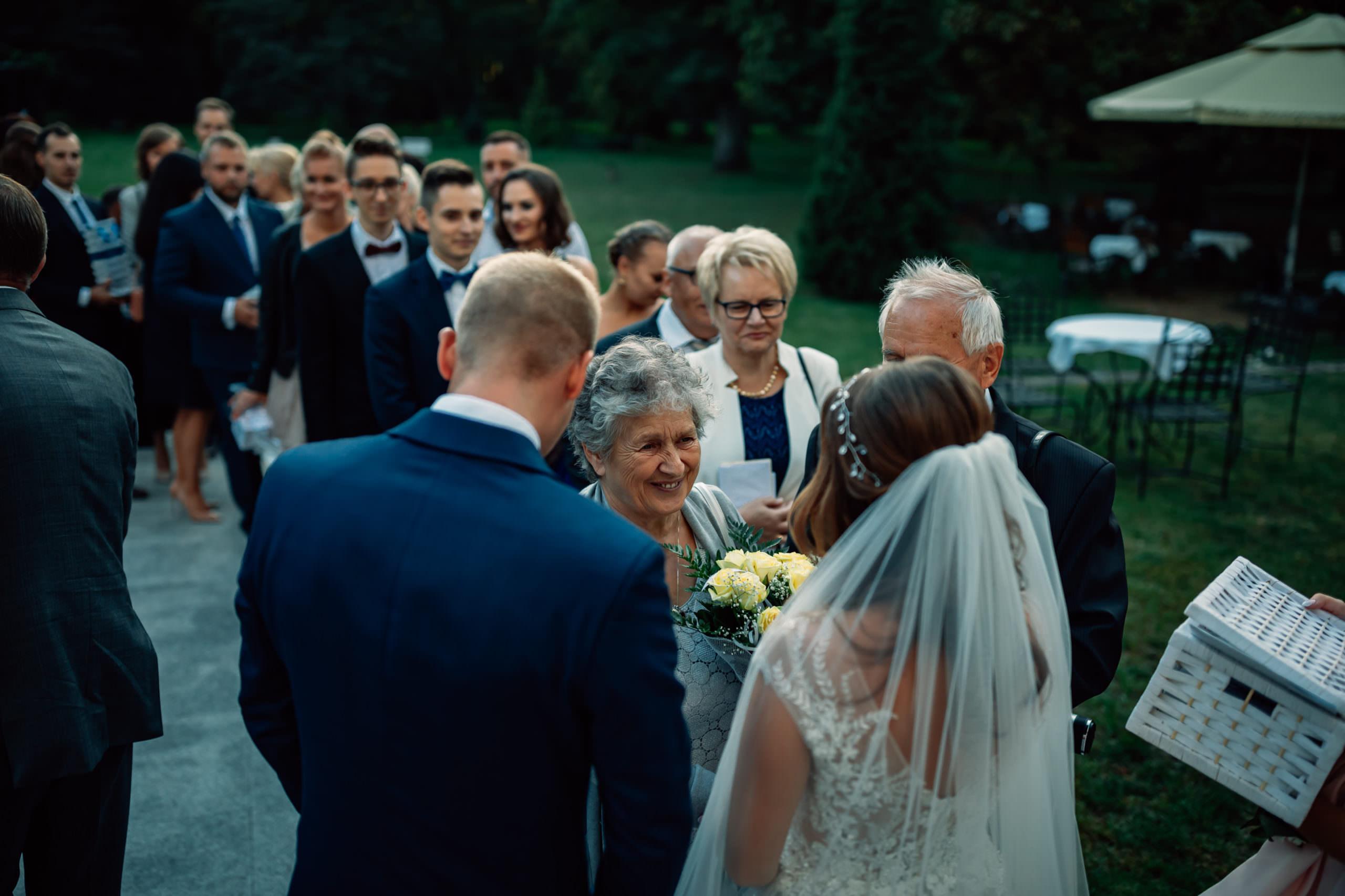 Życzenia ślubne Pałac Szczepowice