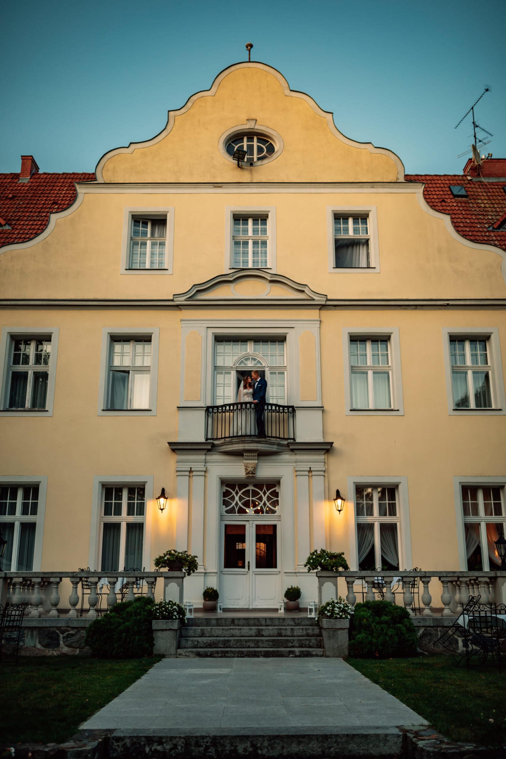 Krótki plener Pałac Szczepowice