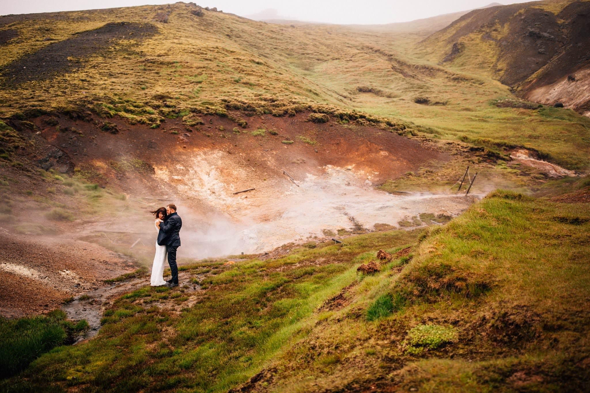 Para Młoda Plener Islandia