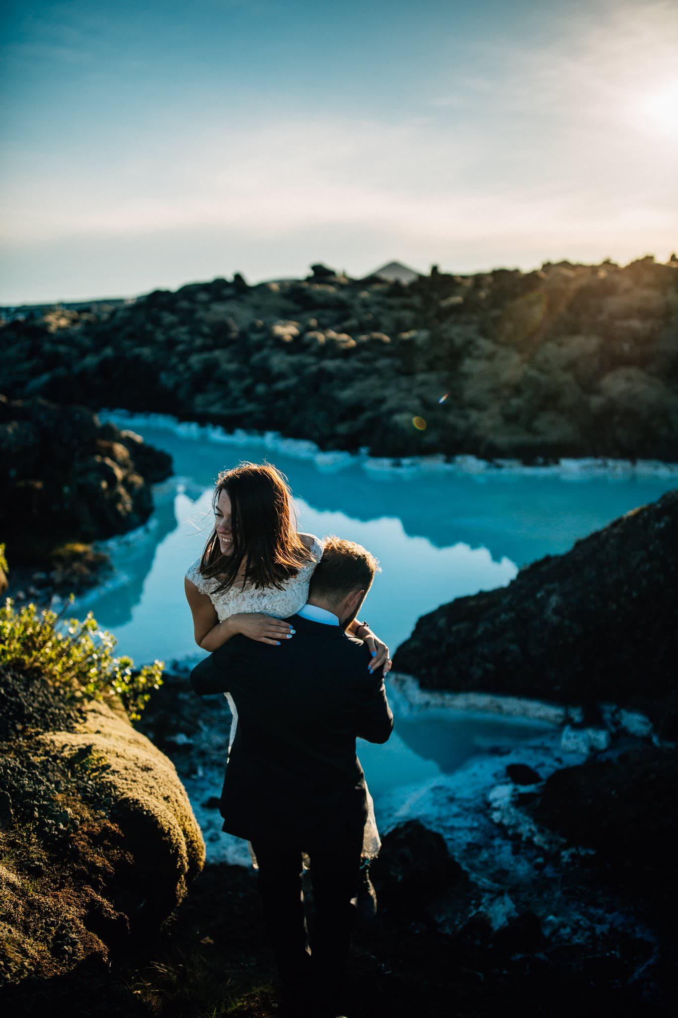Sesja plenerowa Islandia Reportaż ślubny