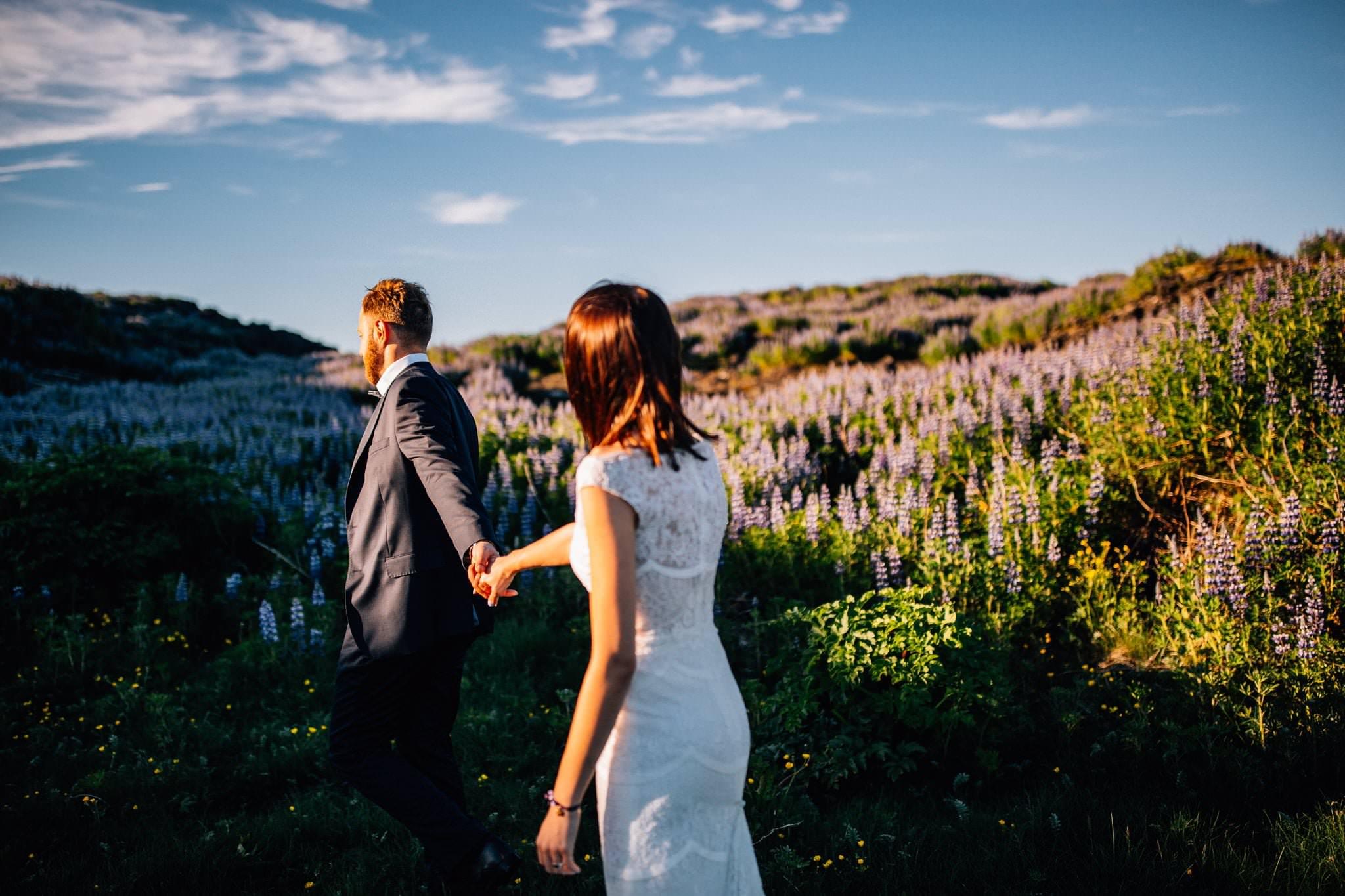 Plener ślubny na Islandii sesja