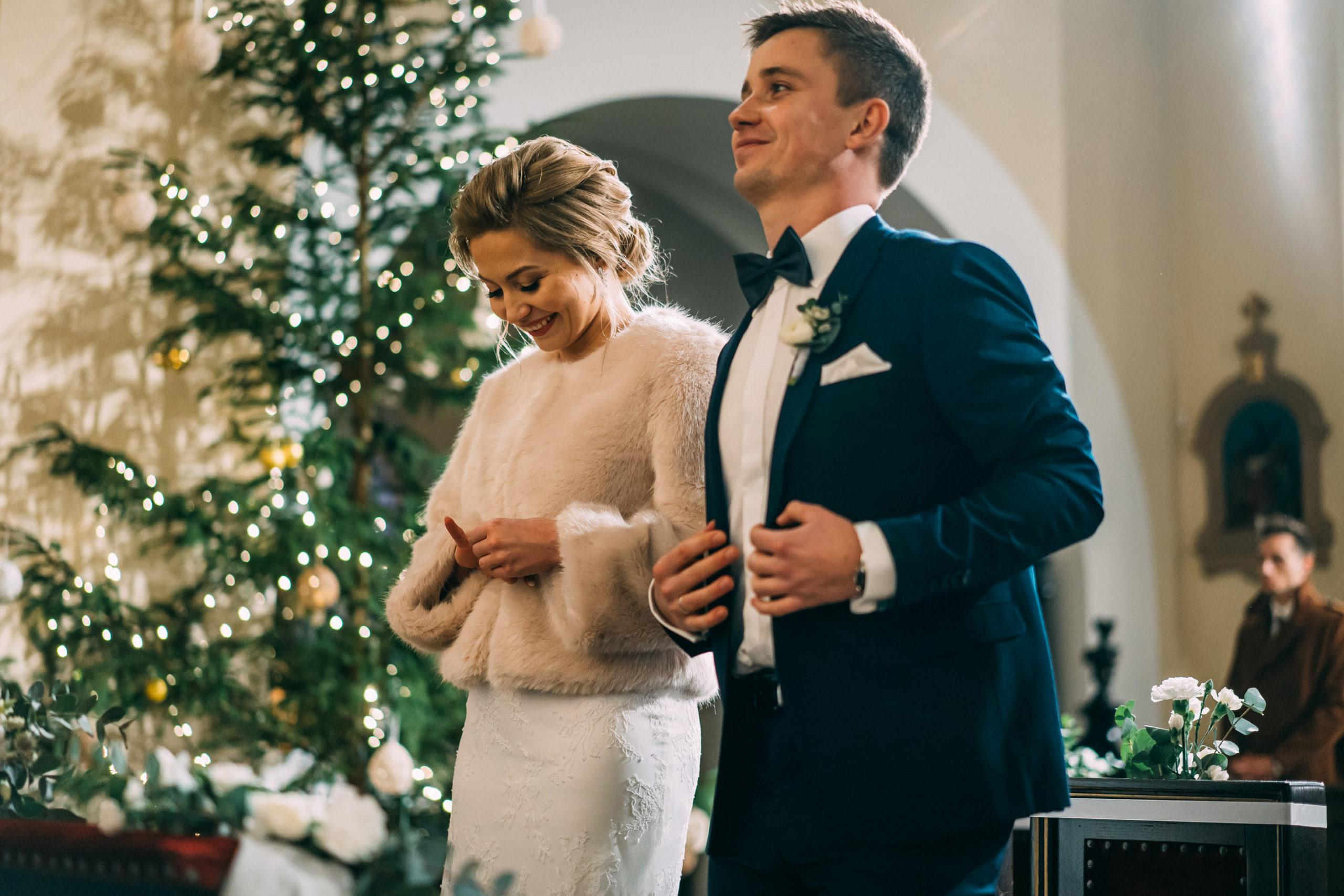Po przysiędze ślubnej w kościele Love Needs
