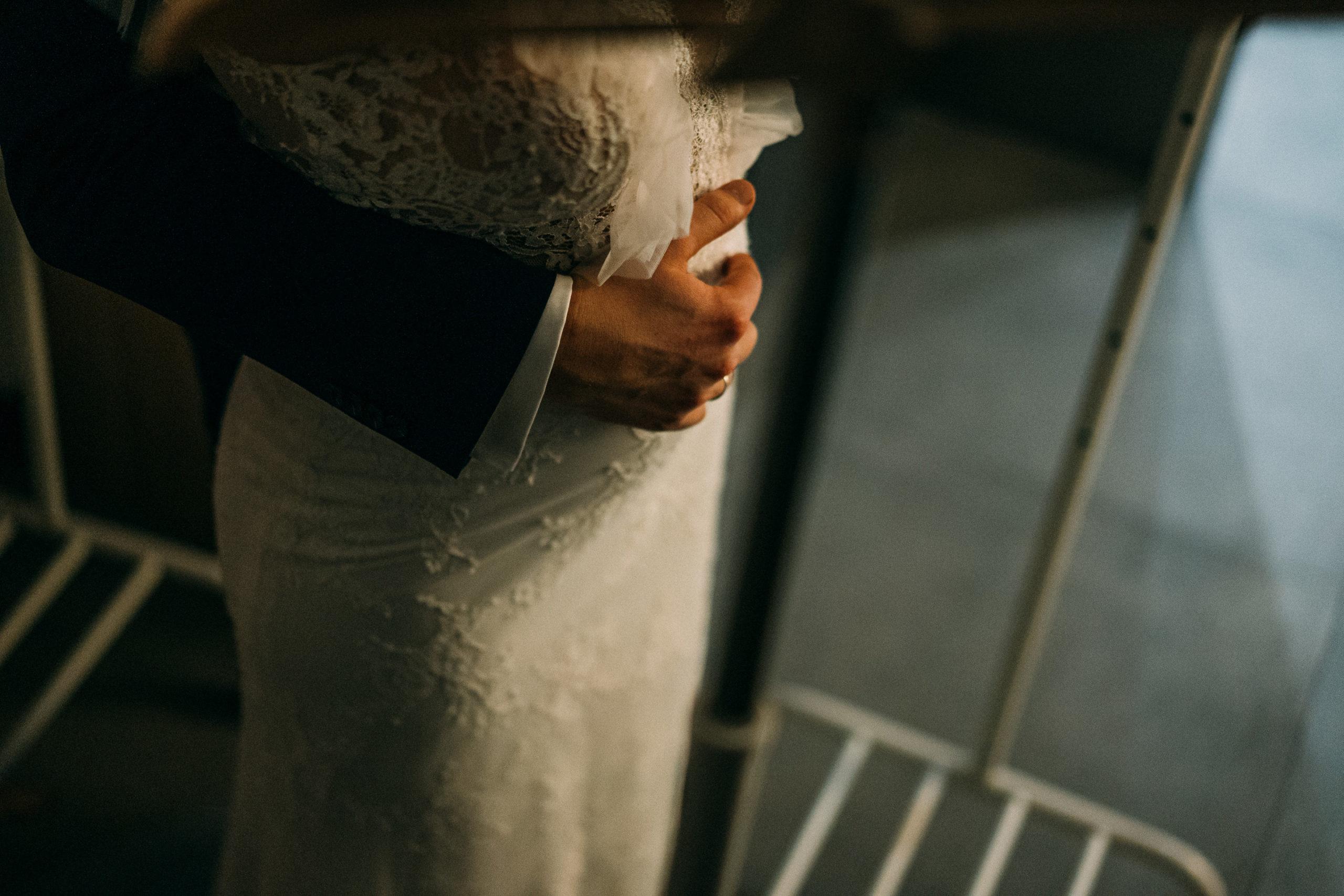 Sesja ślubna w dniu ślubu w Bagatelce